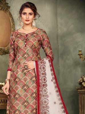 Multi Colour Color Designer Pakistani Salwar Suit