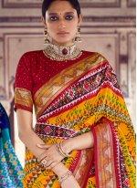Multi Colour Engagement Designer Saree