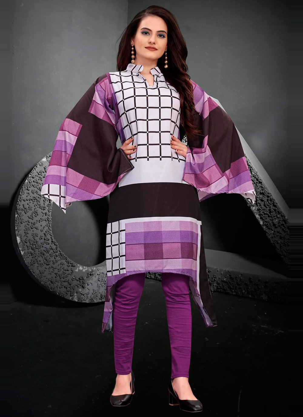 Multi Colour Festival Designer Kurti