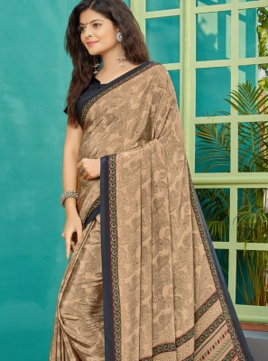 Multi Colour Party Trendy Saree