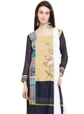 Multi Colour Readymade Salwar Kameez