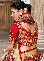 Multi Colour Resham Patola Silk  Designer Traditional Saree