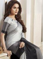 Multi Colour Satin Classic Designer Saree