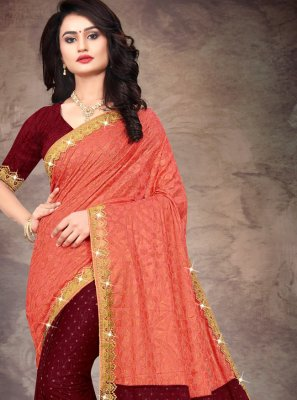 Multi Colour Silk Bollywood Saree