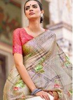 Multi Colour Traditional Saree
