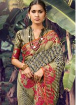 Multi Colour Wedding Traditional Designer Saree