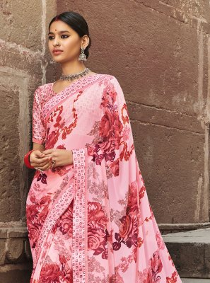 Multi Colour Weight Less Casual Saree