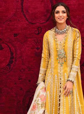 Mustard Color Pant Style Suit