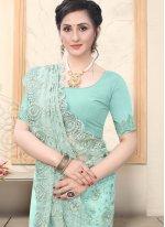 Net Engagement Trendy Saree