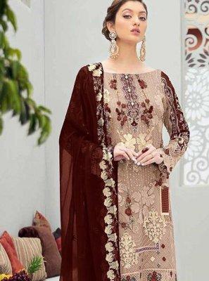 Net Festival Designer Pakistani Salwar Suit