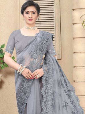 Net Party Bollywood Saree
