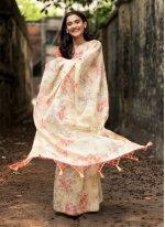 Organza Multi Colour Weaving Traditional Designer Saree