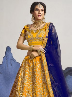 Patch Border A Line Lehenga Choli