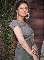 Patch Border Ceremonial Designer Saree