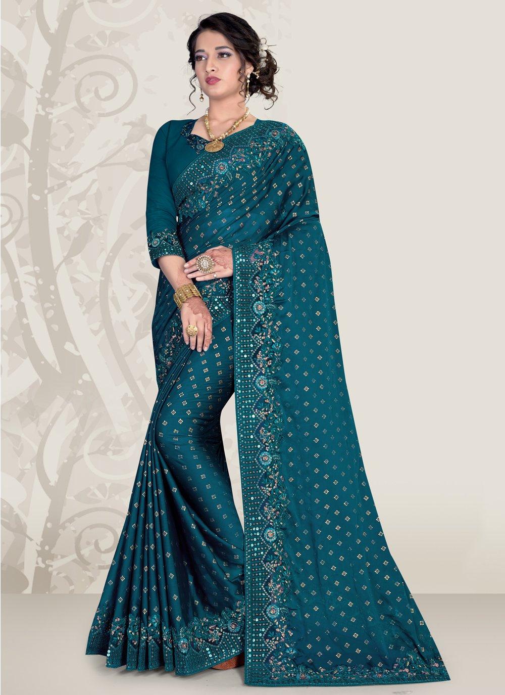 Patch Border Ceremonial Traditional Designer Saree