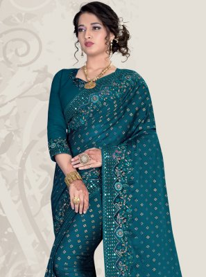 Patch Border Ceremonial Traditional Designer Saree