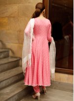 Pink Anarkali Salwar Suit
