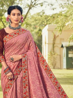 Pink Ceremonial Classic Saree