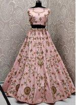 Pink Color Bollywood Lehenga Choli