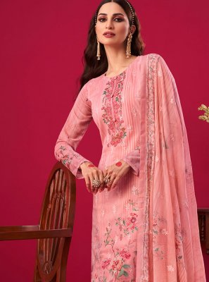 Pink Designer Pakistani Salwar Suit