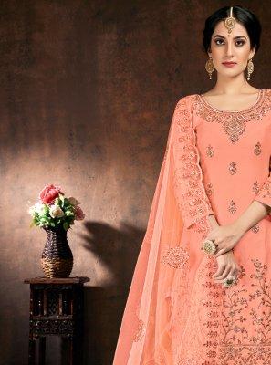 Pink Designer Patiala Suit
