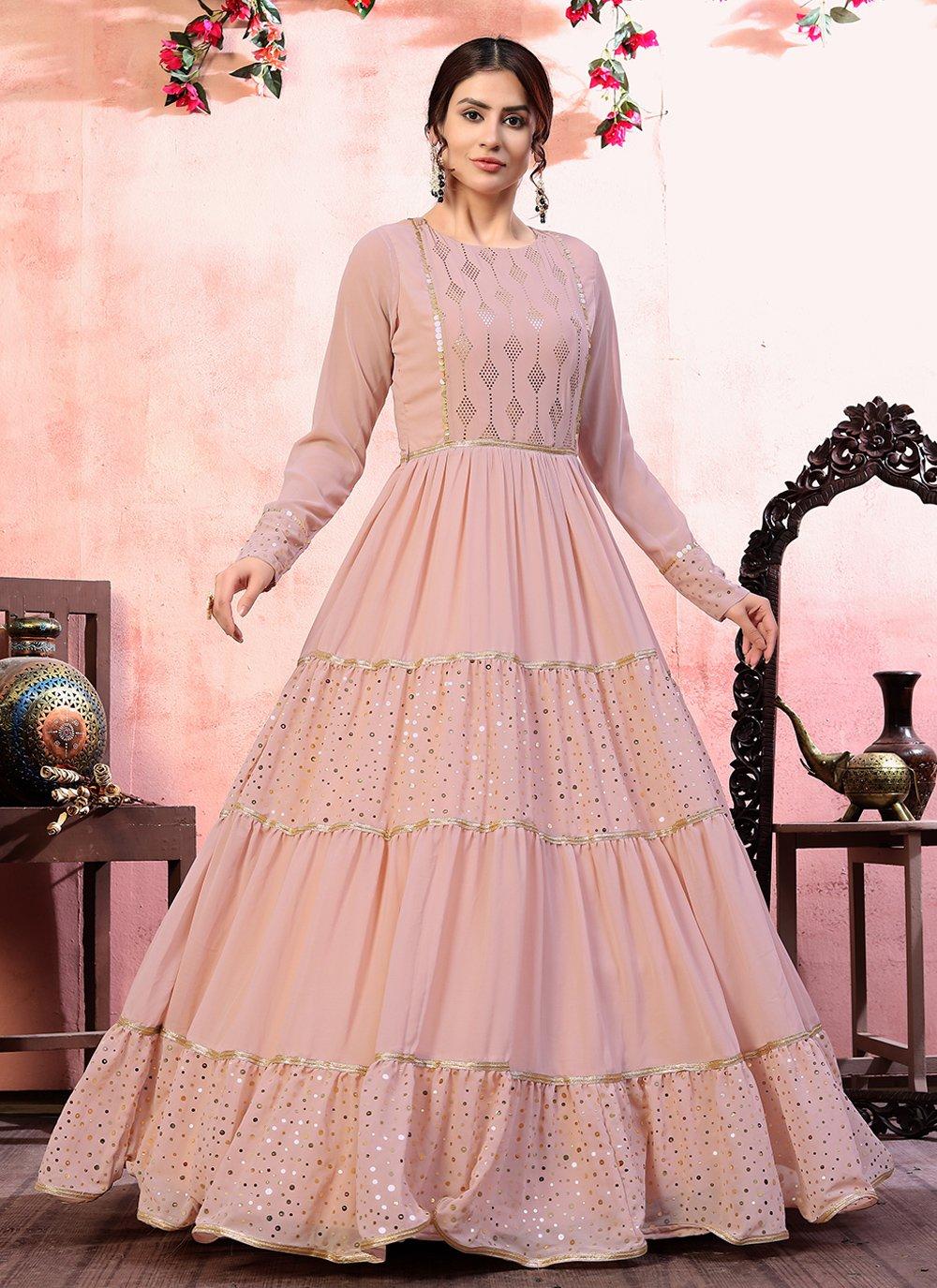 Pink Festival Designer Gown