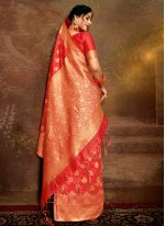 Pink Party Traditional Saree