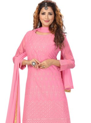 Pink Readymade Suit