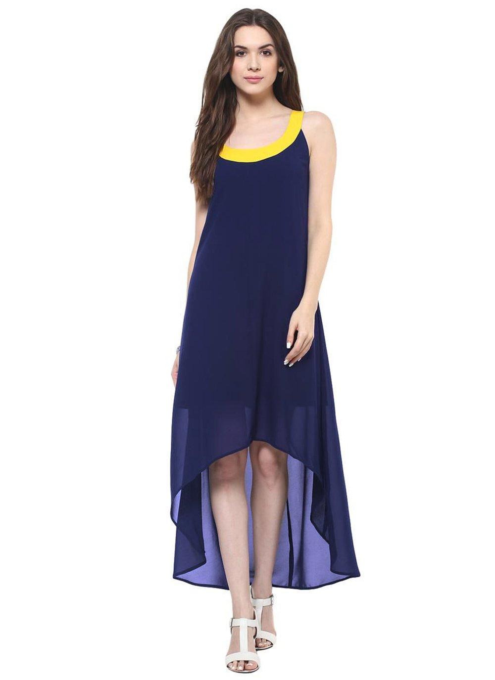 Plain Georgette Designer Kurti