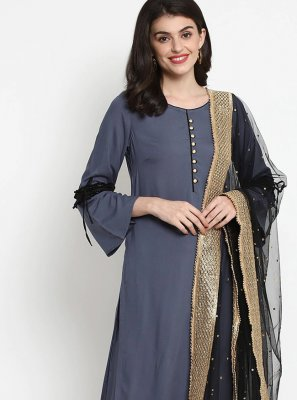 Plain Party Bollywood Salwar Kameez