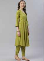 Plain Viscose Bollywood Salwar Kameez