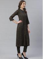 Plain Viscose Designer Salwar Suit