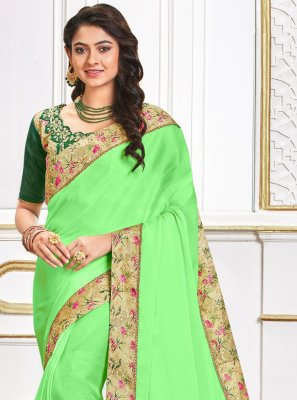 Poly Silk Ceremonial Traditional Saree