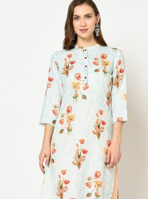 Polyester Party Wear Kurti