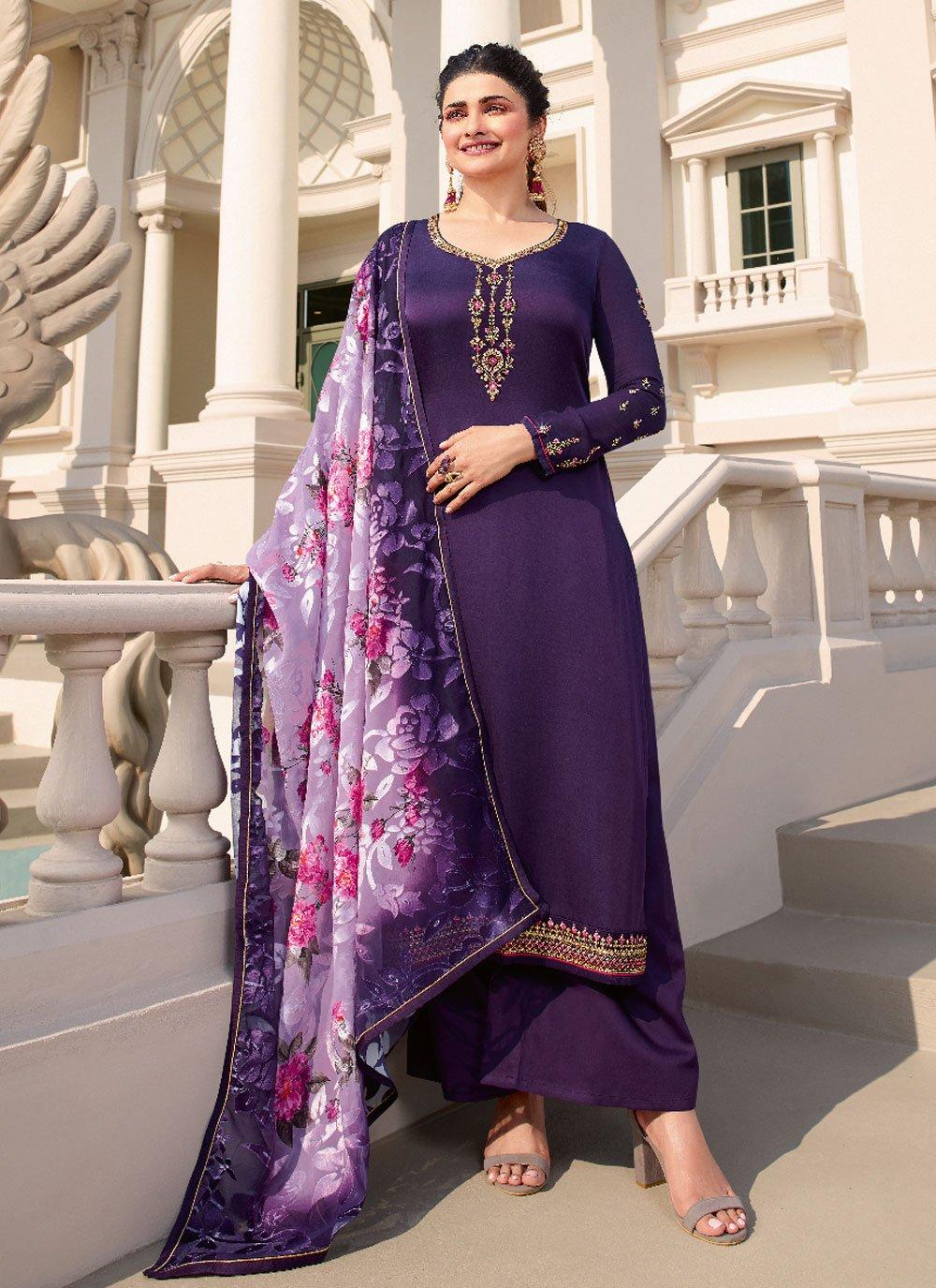 Prachi Desai Designer Palazzo Suit