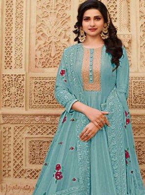 Prachi Desai Floor Length Anarkali Suit For Ceremonial