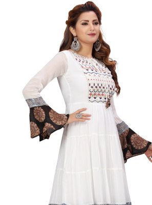 Print Festival Party Wear Kurti