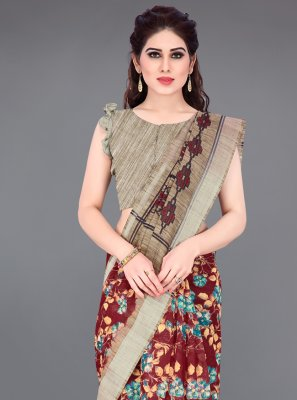 Printed Casual Printed Saree