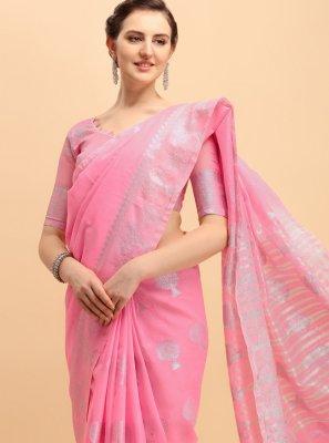 Printed Cotton Bollywood Saree
