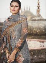 Printed Designer Pakistani Suit
