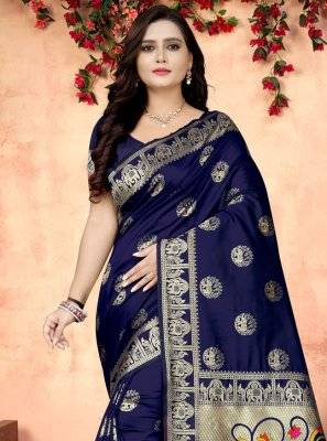 Printed Fancy Fabric Printed Saree