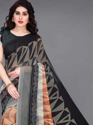 Printed Festival Bollywood Saree