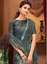 Printed Multi Colour Designer Traditional Saree