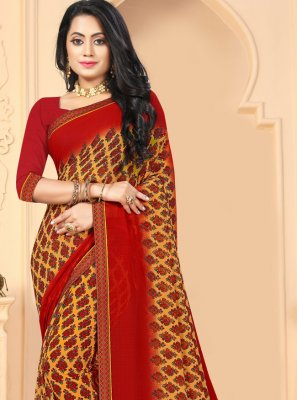 Printed Saree For Casual
