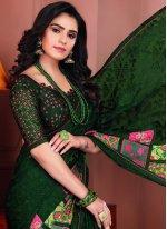 Printed Saree For Ceremonial