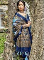 Printed Saree For Festival