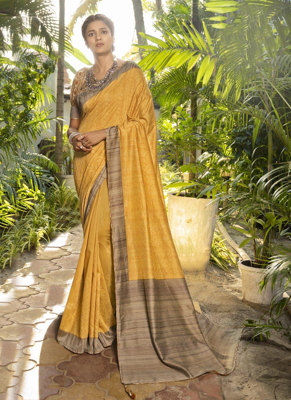 Printed Silk Designer Traditional Saree