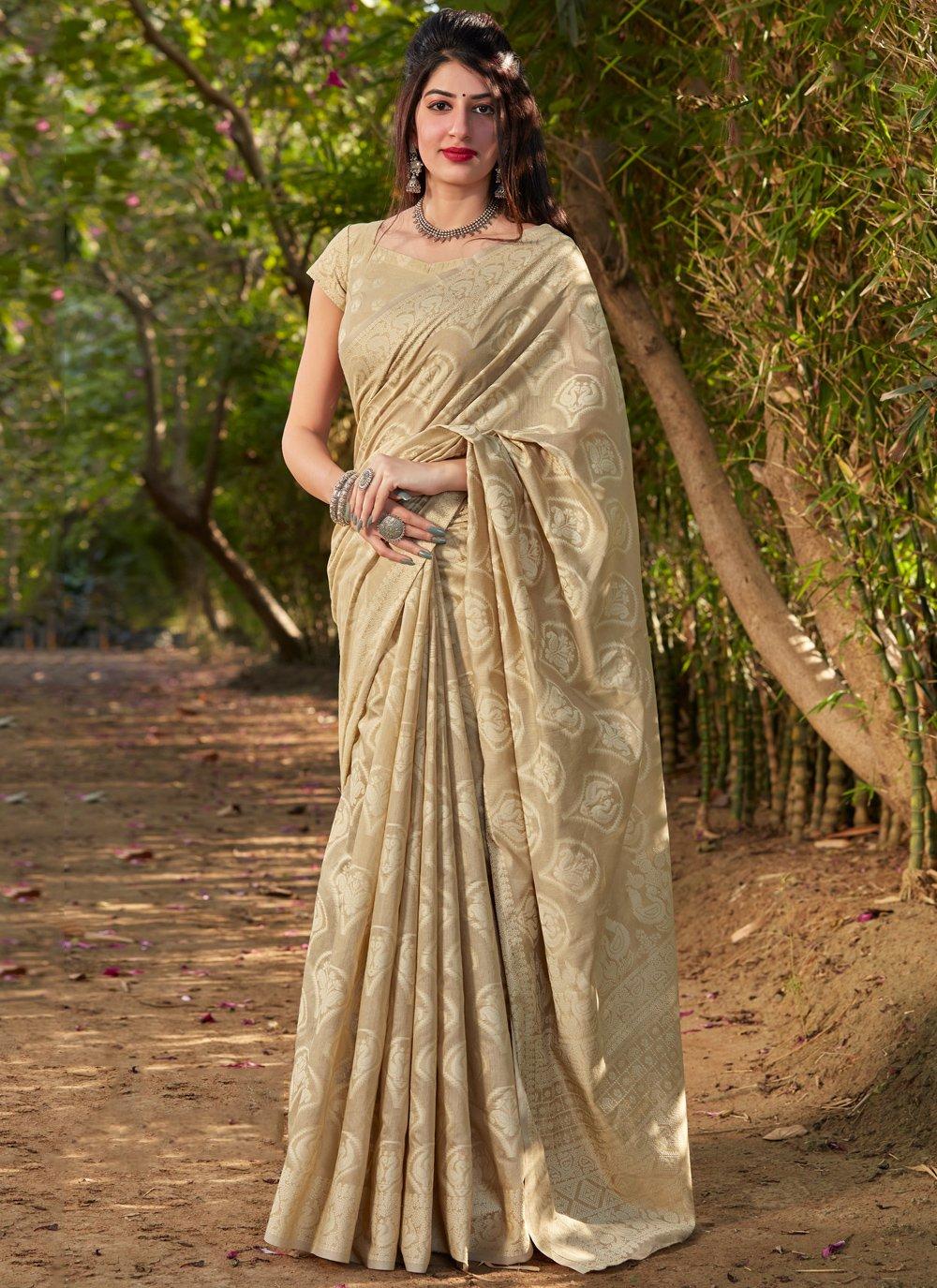 Printed Silk Traditional Saree