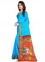 Printed Traditional Designer Saree