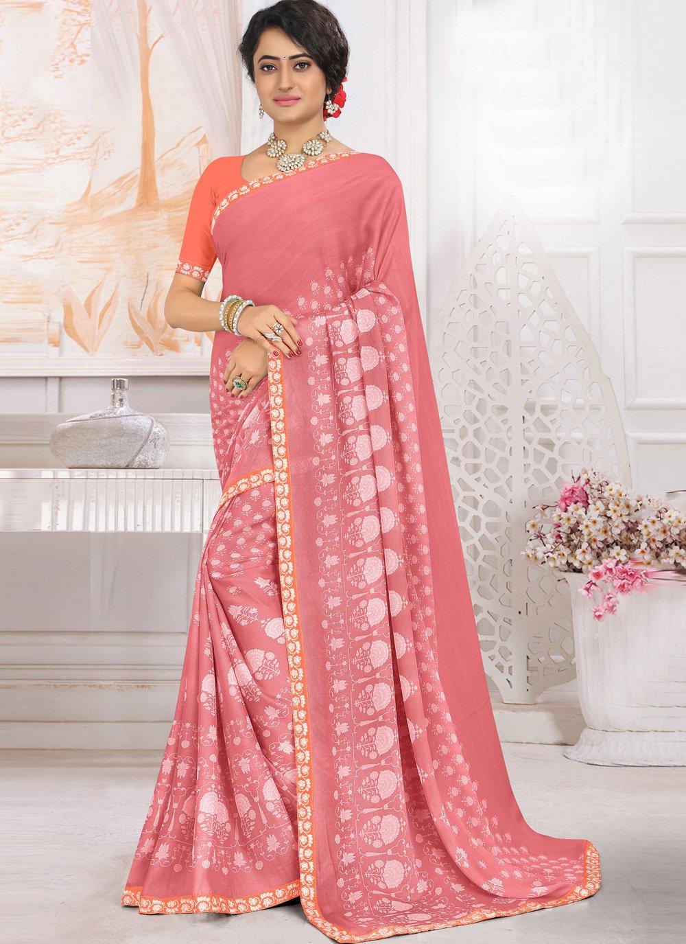 Printed Traditional Saree
